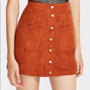 Dresses & Skirts - 🍑BRAND NEW Button Up Skirt with Pockets 🍑
